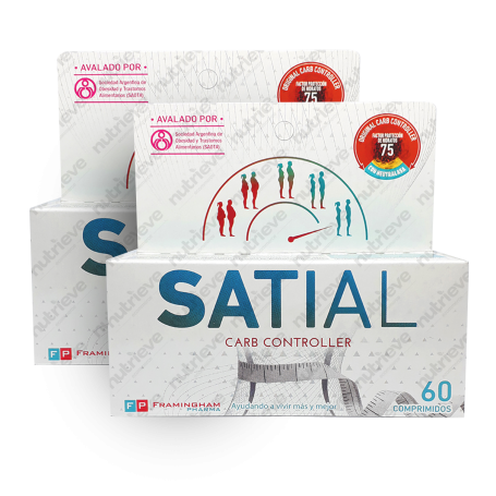 Two Pack Satial Carb Controller 60 Pastillas