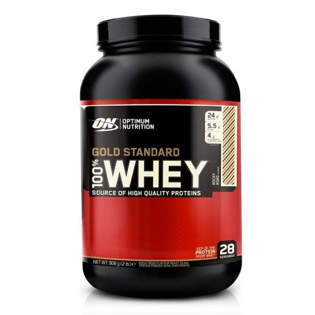 OPTIMUM NUTRITION Whey Protein 2lb Gold Standard 100%
